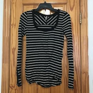Like New Free People Striped Top